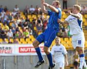 """""""Kruojos"""" debiutui UEFA Europos lygoje jėgų pakako kėliniui"""