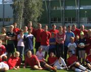 """FK """"Sūduvos"""" treniruotėje dalyvavo vaikų globos namų auklėtiniai"""
