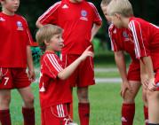 FKE akademija atvirų durų dienoje vilniečius mokė futbolo paslapčių