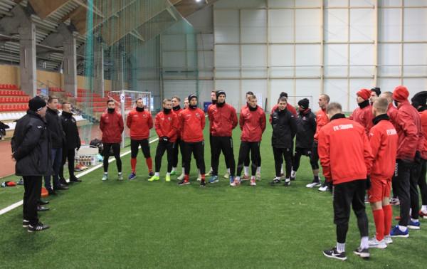Čempionai pradėjo pasirengimą naujam sezonui