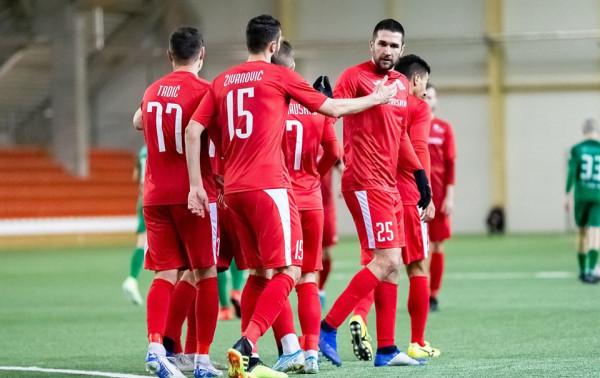 Čempionai stovyklą Kipre baigė pergalingai
