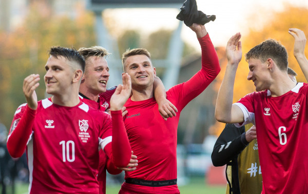Lietuvos rinktinė palaužė Bulgariją